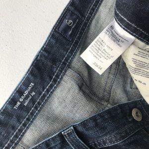 Ag Adriano Goldschmied Jeans - AG | Graduate Straight Leg Dark Wash Jeans 33